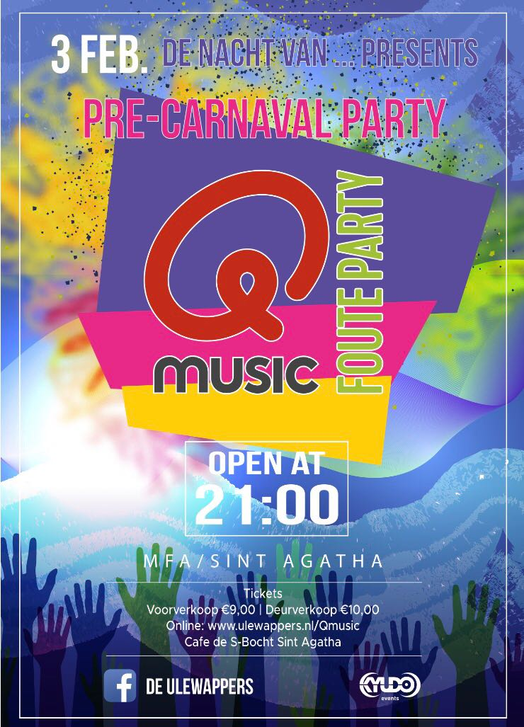 Tickets  Q  Music de foute Party